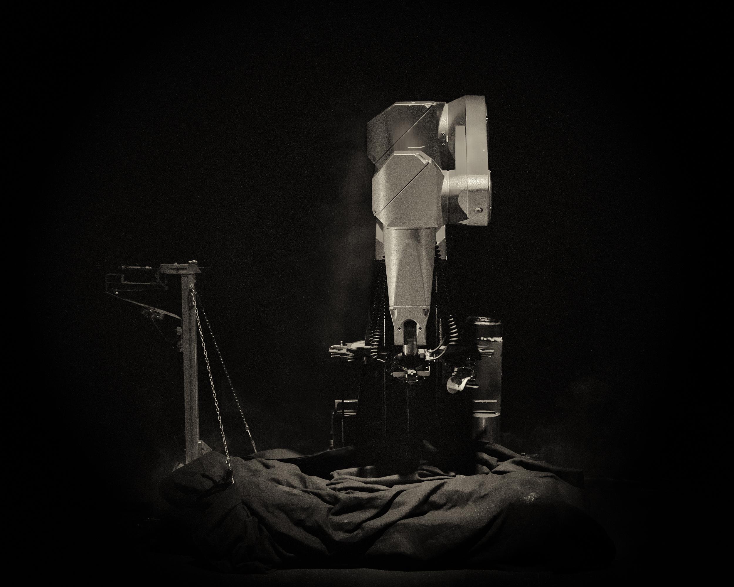 La créature métallique, un spectacle robotique