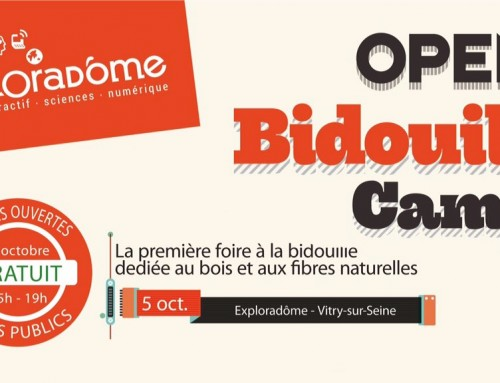 Un photographe un peu spécial à l'Open Bidouille Camp Vitry 2016