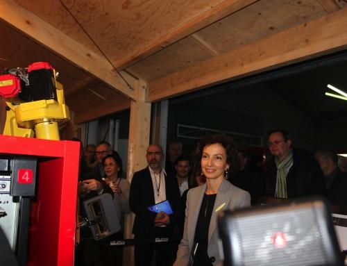 Le photographe inaugure une Micro Folie à Sevran