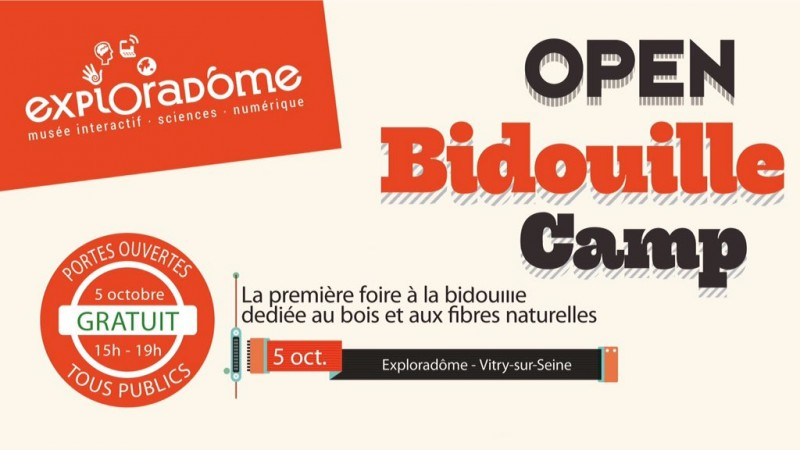 Open Bidouille Camp Vitry 2016